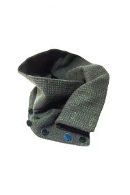 green scarf wool