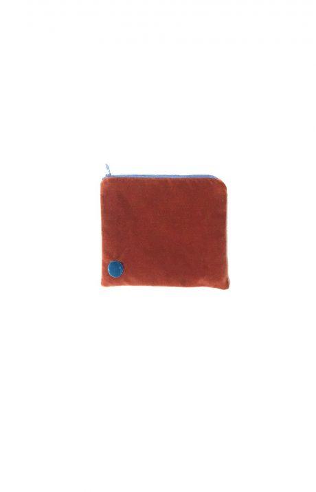 pinigine kosmetine delnine ochra purse